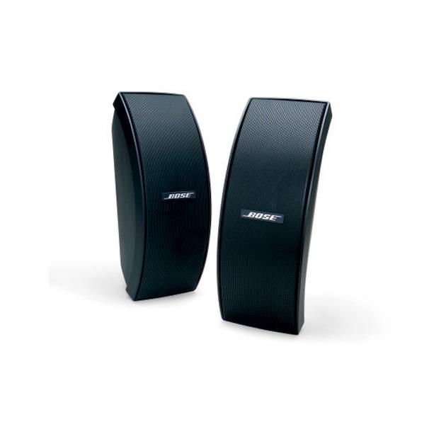 Bose 151 SE Environmental speaker (including brackets) zwart