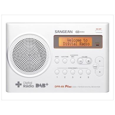 Sangean DPR-69 wit