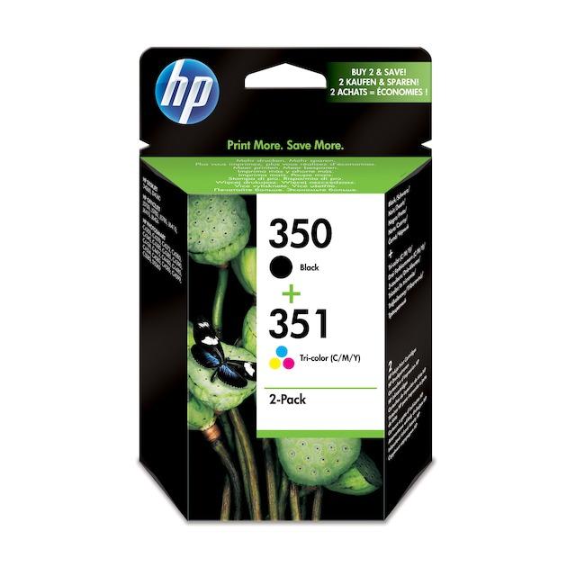 HP 350/351 Combopack Zwart/multicolor