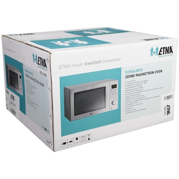 Etna ECM 243 rvs