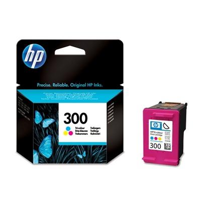 HP 300 tri-colour