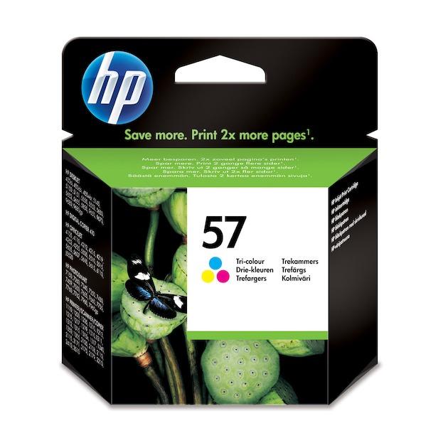 HP 57 tricolor