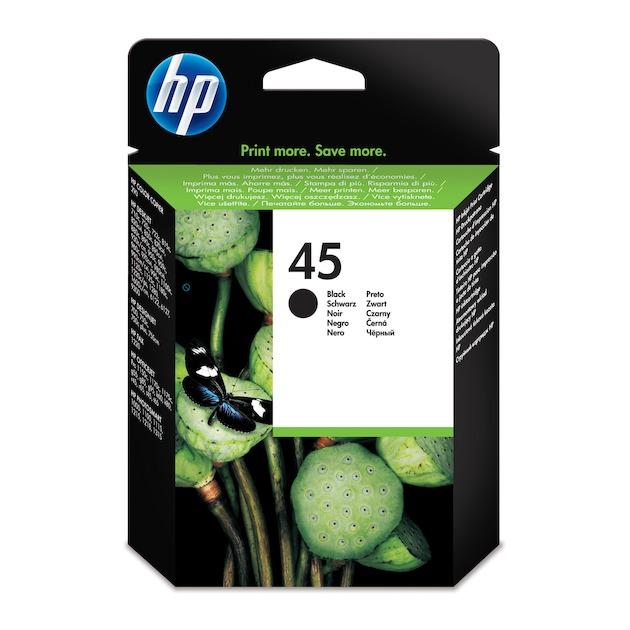 HP 45 zwart