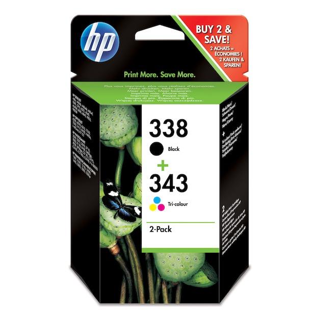 HP 338 + 343 combi pack