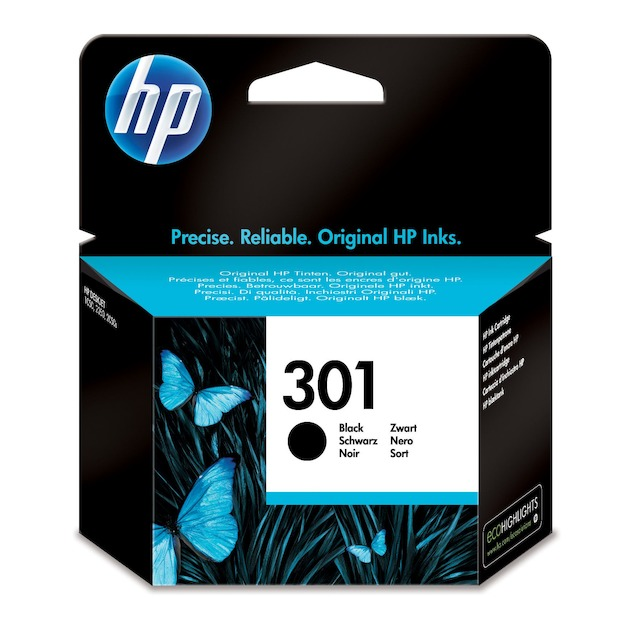 HP 301 zwart