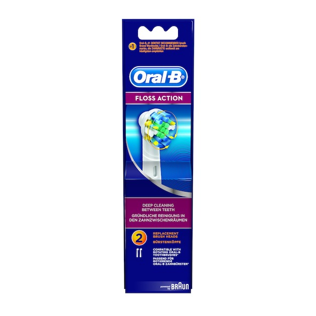 Oral B Opzetborstel Floss Action EB25