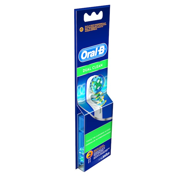 Oral B Opzetborstel Dual Clean EB417