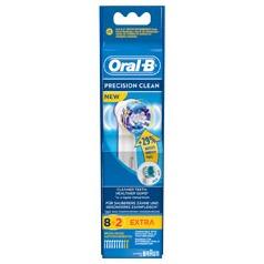 Oral B Opzetborstel Precision Clean 8+2