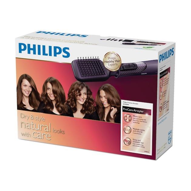 Philips HP8656/00 zwart/paars