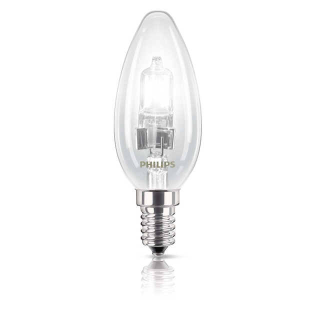 Philips halogeenlamp E14 28W 370Lm kaars