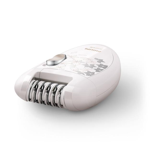 Philips HP6423/00 beige/wit