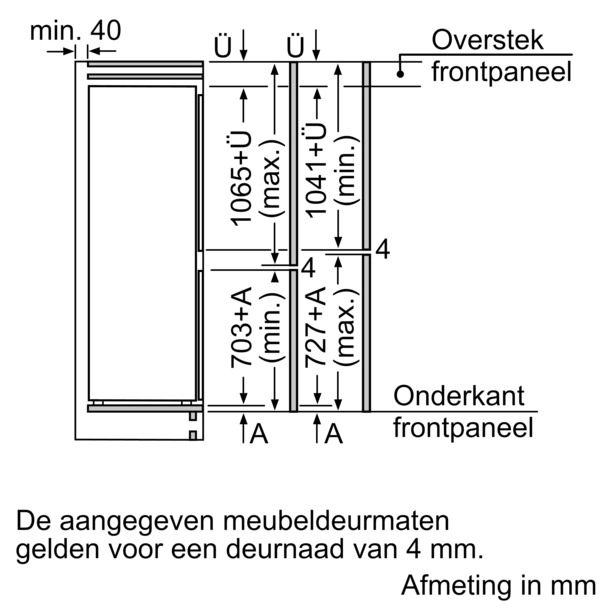 Bosch KIS86GD30