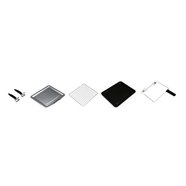 Inventum OV305CS zwart/zilver