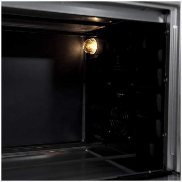 Inventum OV425CS zwart/zilver