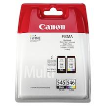 Canon PG-545 en CL-546 multipak Zwart/multicolor