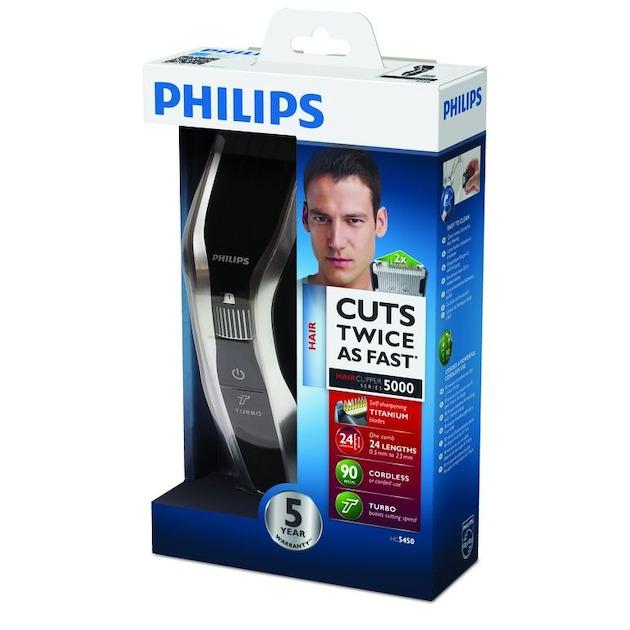 Philips HC5450/16 zwart/zilver