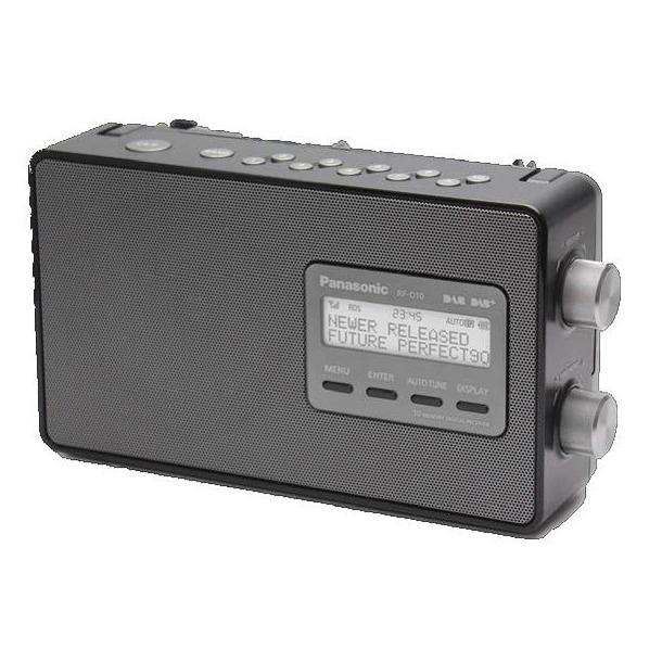 Panasonic RF-D10EG-K zwart