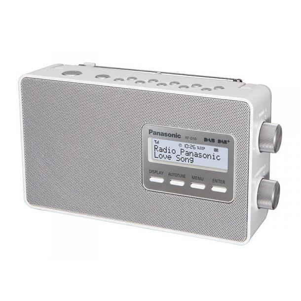 Panasonic RF-D10EG-W wit