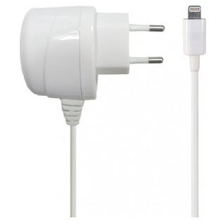Azuri Thuislader Apple Lightning connector wit