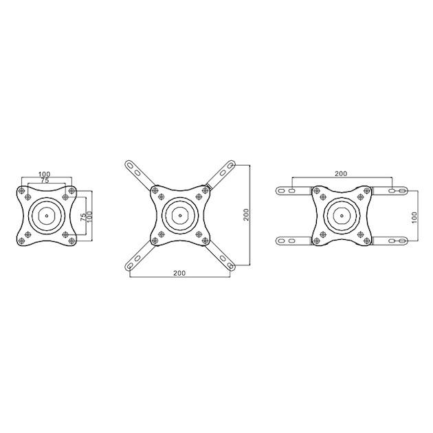 Multibrackets MB733299