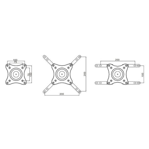 Multibrackets MB736061