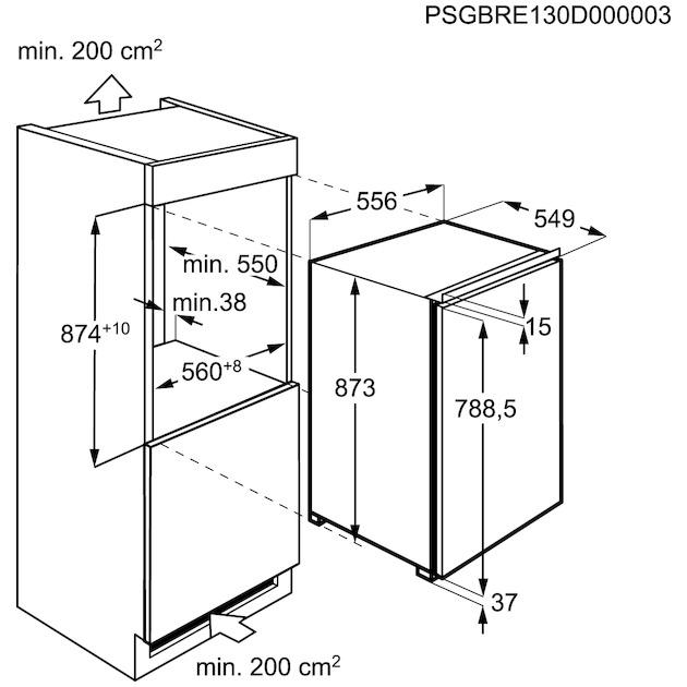 Electrolux ERG1401AOW
