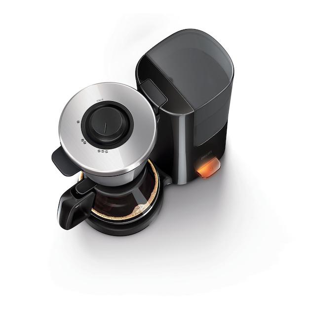 Philips HD7695/90 zwart/metaal