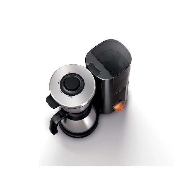 Philips HD7697/90 zwart/rvs