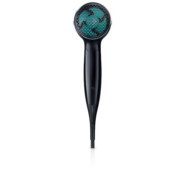 Philips BHD007/00 zwart/blauw