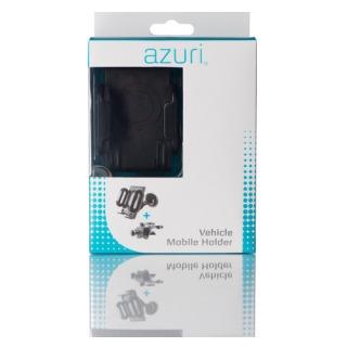 Azuri Universele telefoonhouder voor in de auto zwart