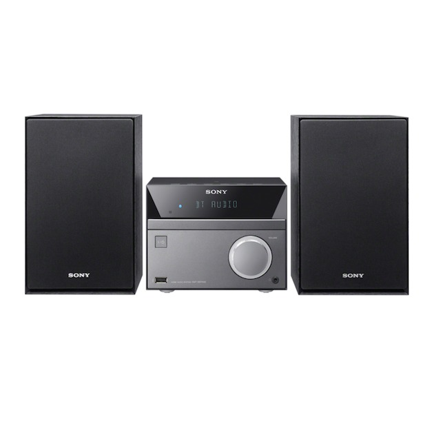 Sony CMT-SBT40D zwart/grijs