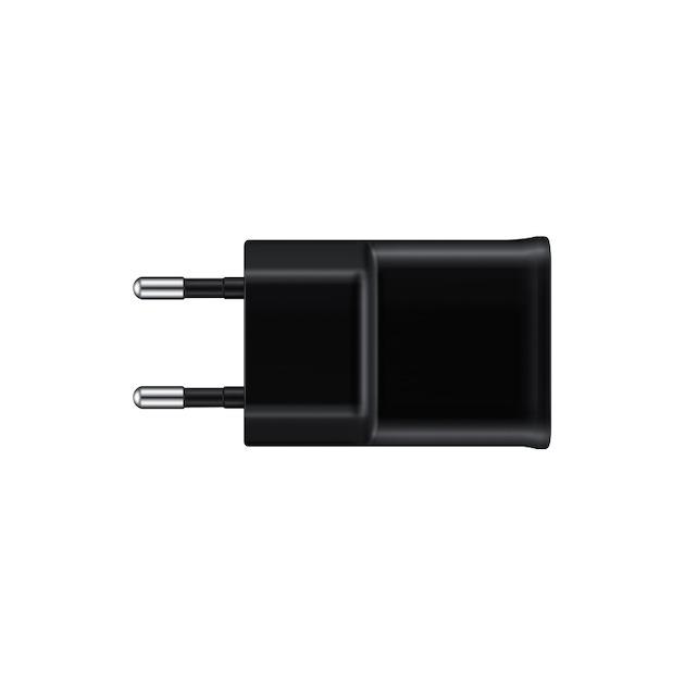 Samsung Thuislader + Micro USB-kabel zwart