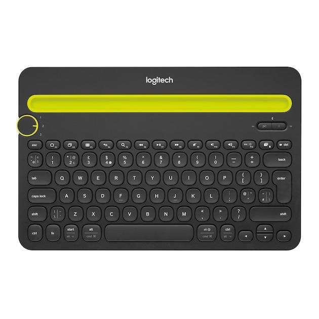 Logitech K480 zwart