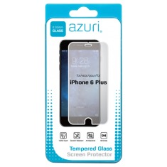 Azuri Tempered Glass Screen Protector voor Apple iPhone 6/6S Plus transparant