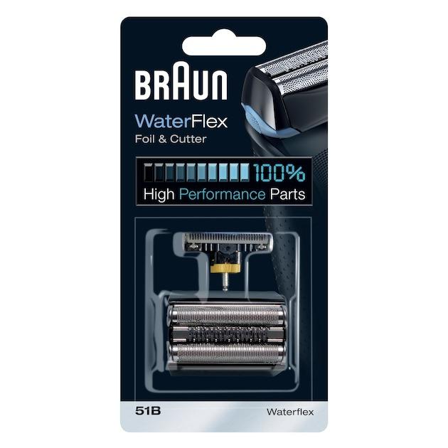Braun 51B - voor Waterflex