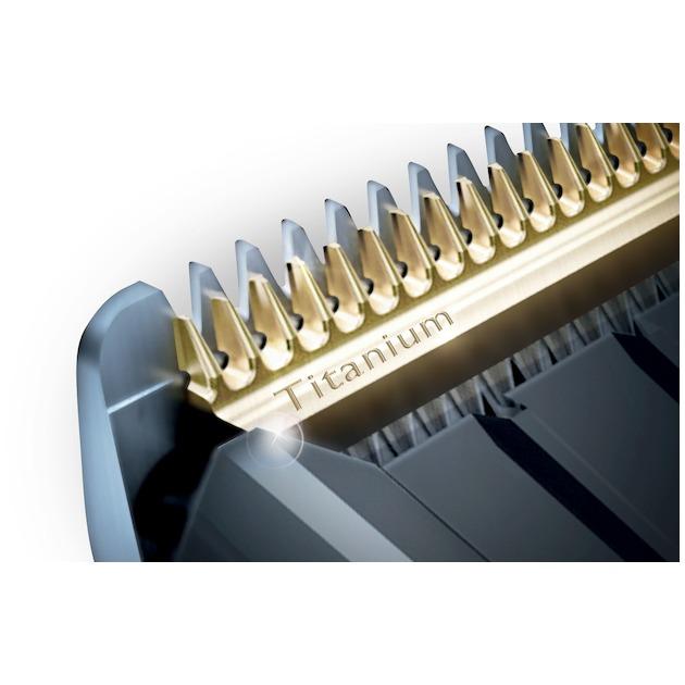 Philips HC9450/20 zwart/zilver
