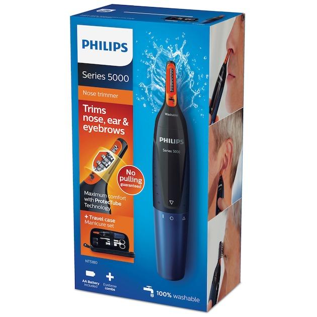Philips NT5180/15 zwart/blauw