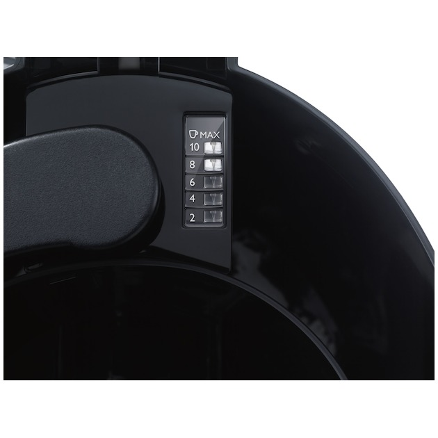 Philips HD7462/20 zwart/rvs