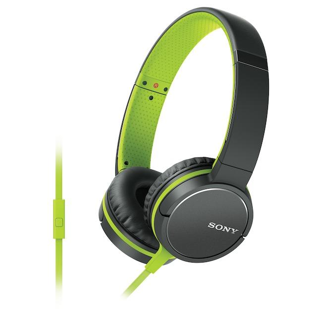 Sony MDR-ZX660AP groen
