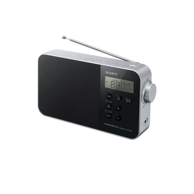 Sony ICF-M780SL zwart/zilver