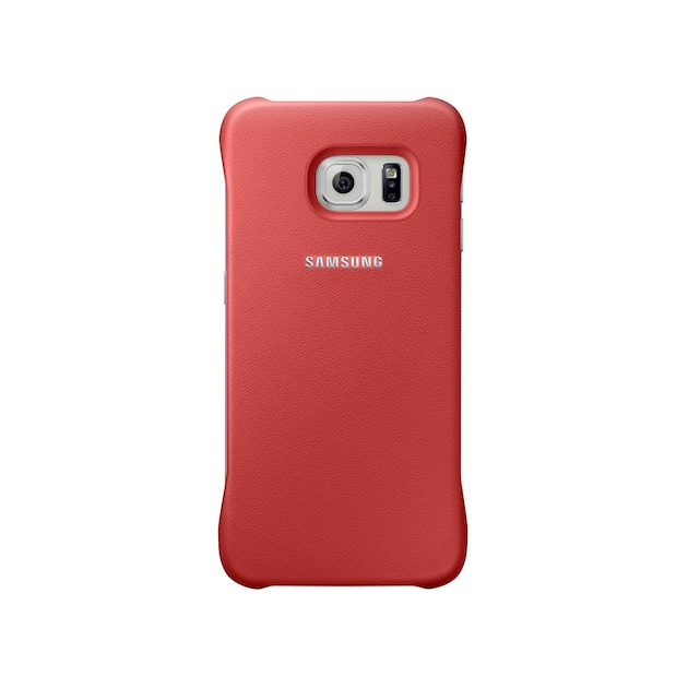 Samsung Protective Cover - voor Galaxy S6 Edge rood