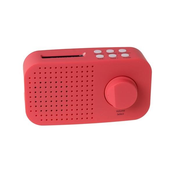 Tiny Audio AMI DAB RADIO rood