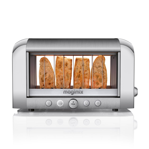 Magimix Vision Toaster mat chroom