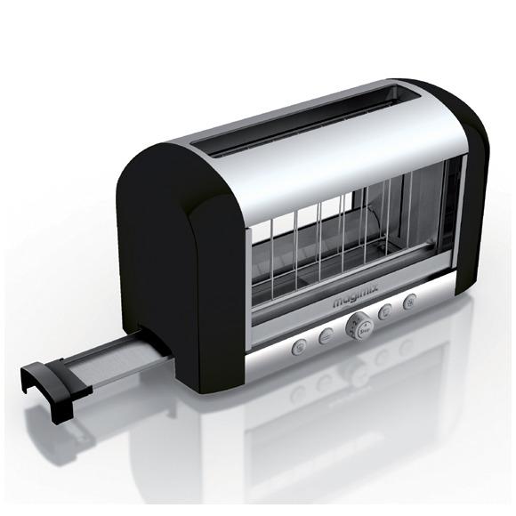 Magimix Vision Toaster zwart