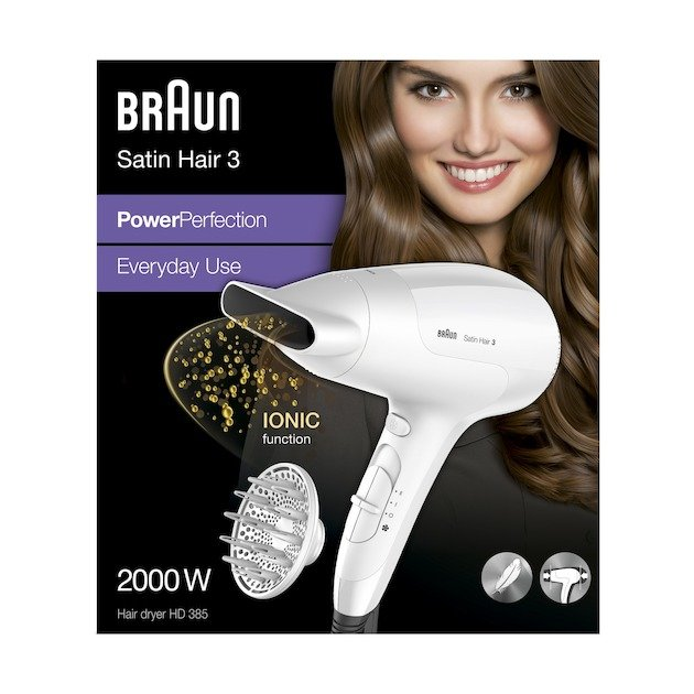 Braun Satin Hair 3 - HD385