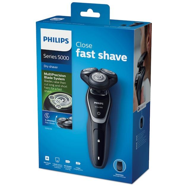 Philips S5110/06 zwart/zilver