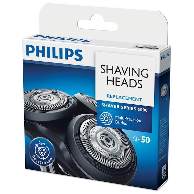 Philips SH50/50 zwart/wit