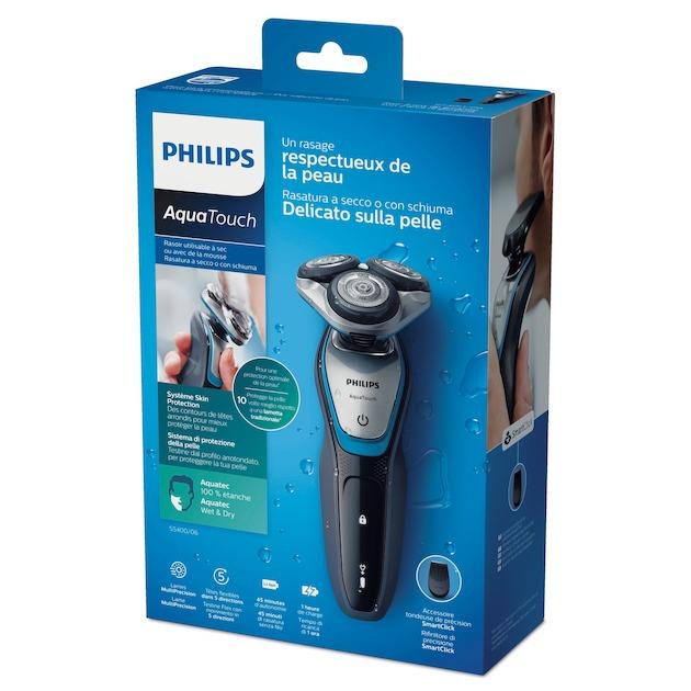 Philips S5400/06 zwart/blauw