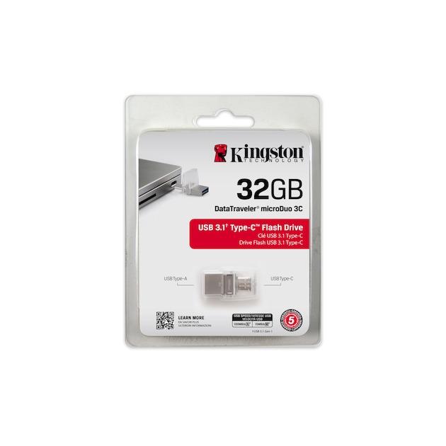 Kingston DataTraveler USB 3.0 MicroDuo 32GB