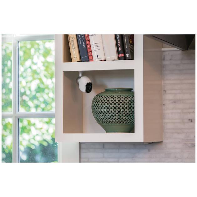 Arlo Tafel/Plafond/Muursteun wit/zilver